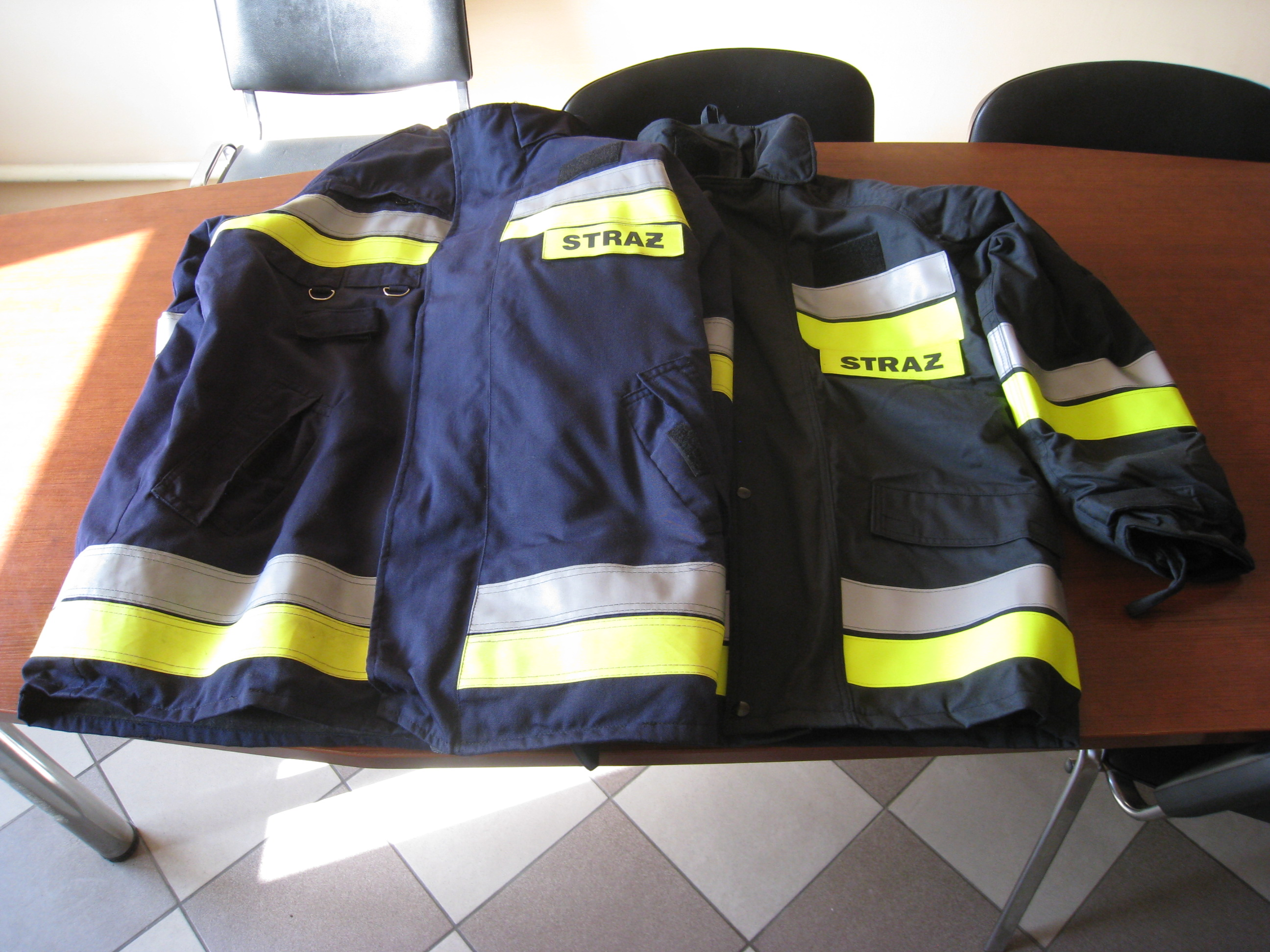 Ubranie strażackie